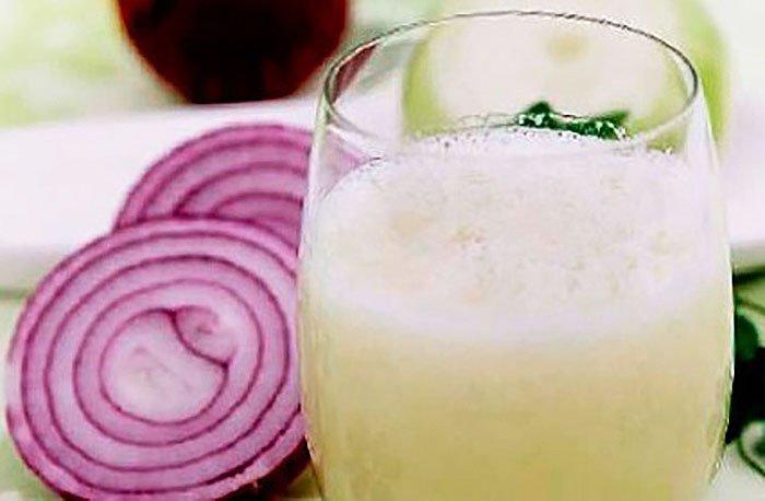 ванночка для маникюра с молоком, луком и желатином