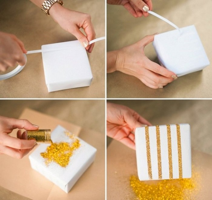 упаковка подарка идеи