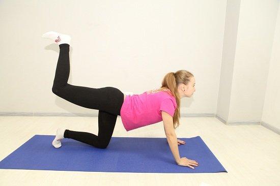 упражнение для бедер и ягодиц