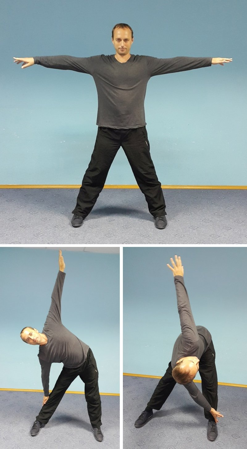 упражнения для спины и рук
