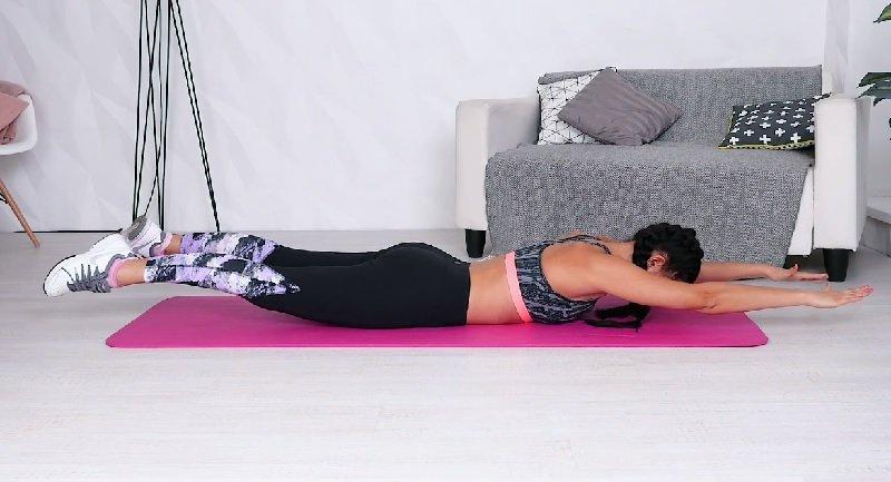 упражнения для позвоночника и таза