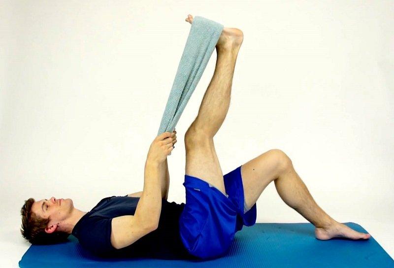 упражнения для больной поясницы