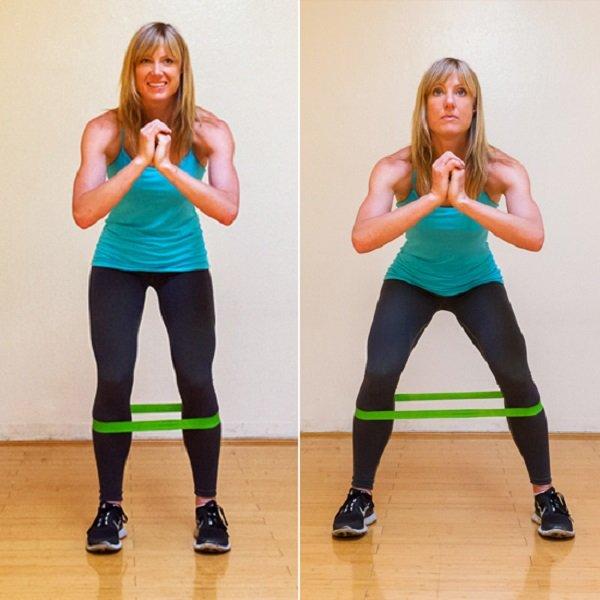 упражнения для внутренней части бедра
