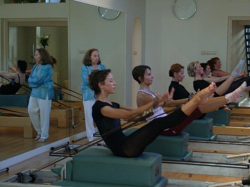 упражнения по системе Пилатеса