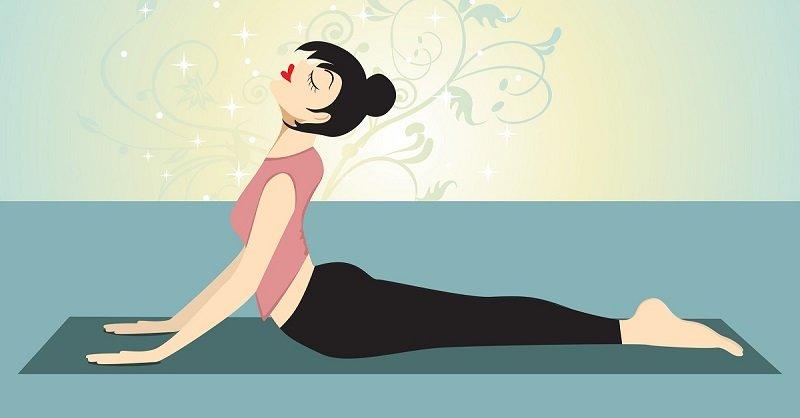 Поза кобры: гибкость, укрепление глубоких мышц спины, прилив сил