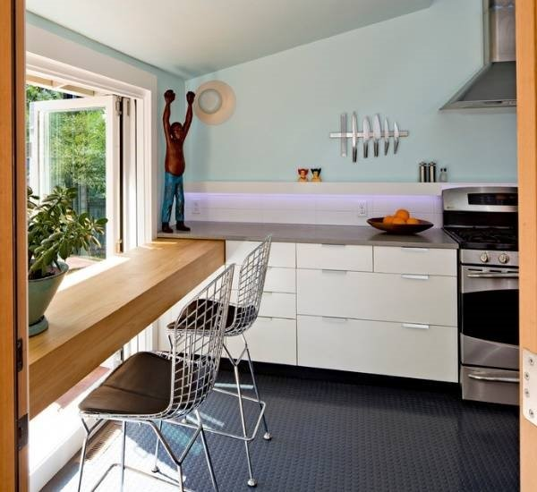 Новости PRO Ремонт - Вот как моя подруга поступила со старым подоконником на кухне. Идея на миллион! подоконники данке