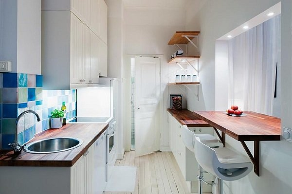 Новости PRO Ремонт - Вот как моя подруга поступила со старым подоконником на кухне. Идея на миллион! дизайн подоконника в детской