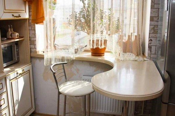 Новости PRO Ремонт - Вот как моя подруга поступила со старым подоконником на кухне. Идея на миллион! дизайн подоконника