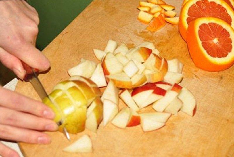 утка с яблоками рецепт