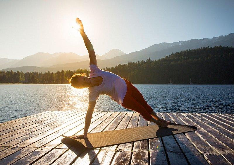 утренняя йога асаны