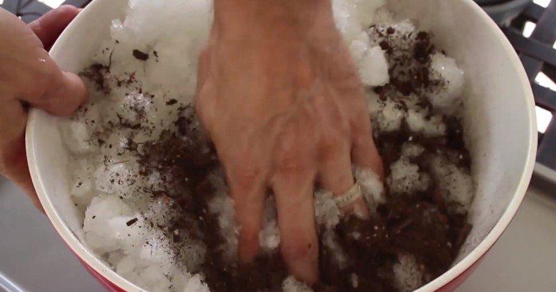 увлажнение почвы