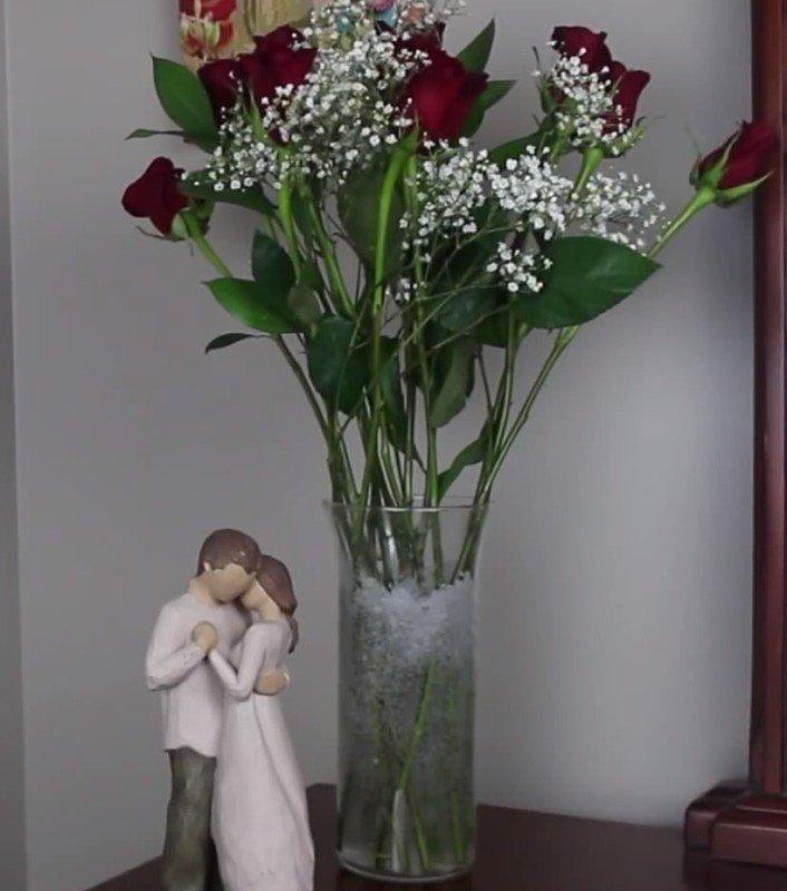 kvety boli už