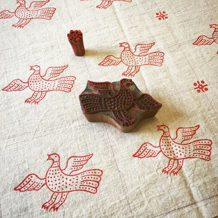набойка на ткани мастер класс