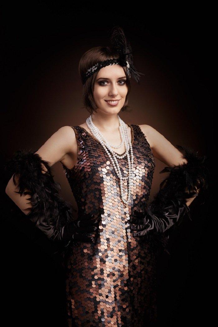 праздничное платье своими руками