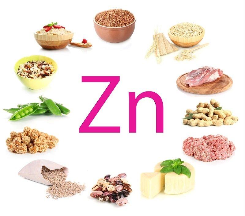 в каких продуктах содержится цинк и селен