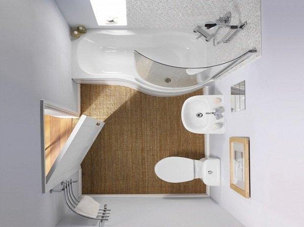 маленькая ванная комната варианты планировки