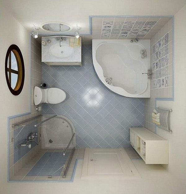 маленькая ванная комната дизайн 2016
