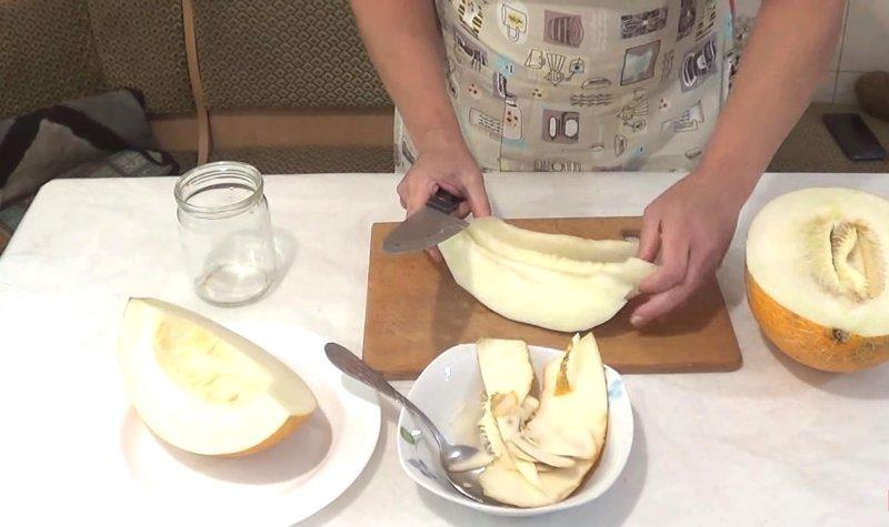 варенье из дыни на зиму с лимонной кислотой