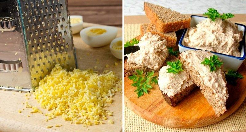 После Пасхи осталось много вареных яиц, готовлю из них царскую закуску
