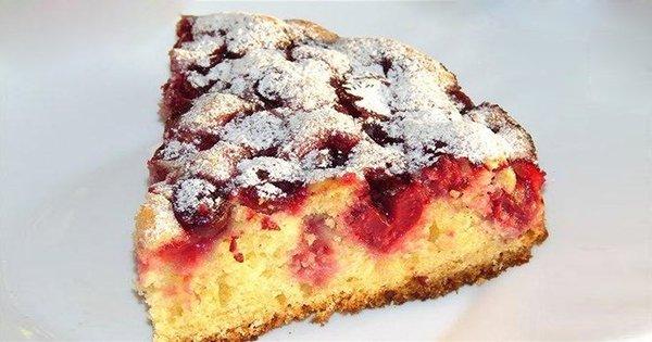 торт пирога с вишней рецепт