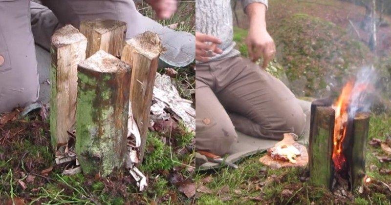 вертикальный мангал для шашлыка