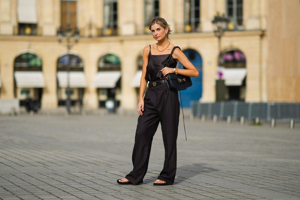черная одежда женская