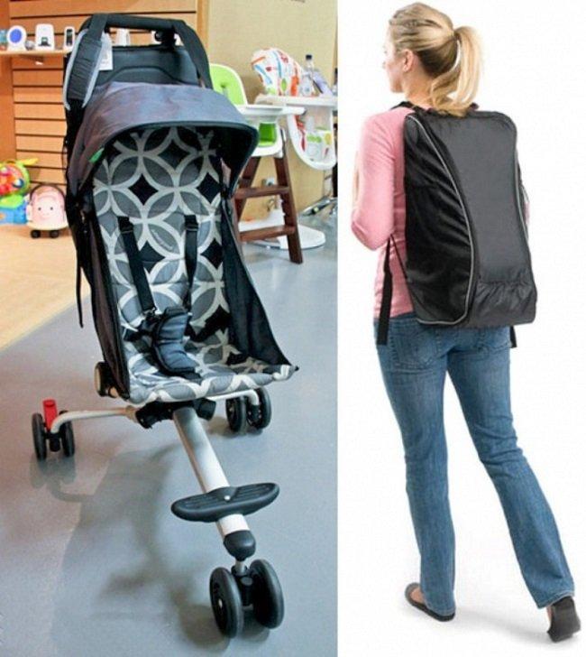 коляска-рюкзак