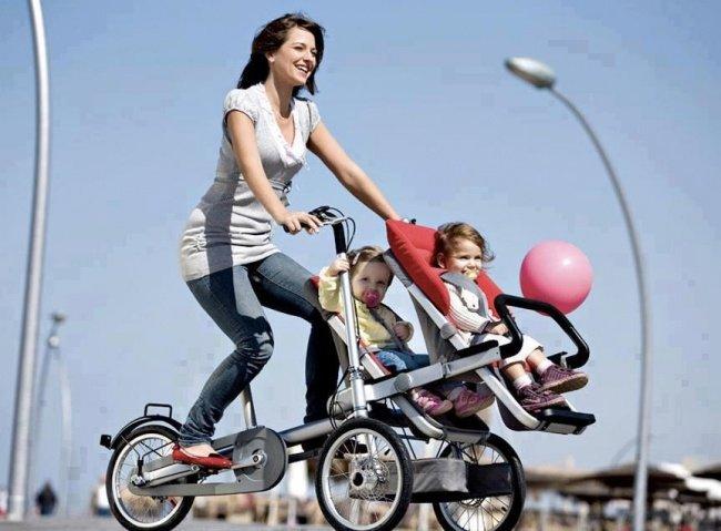 коляска-велосипед