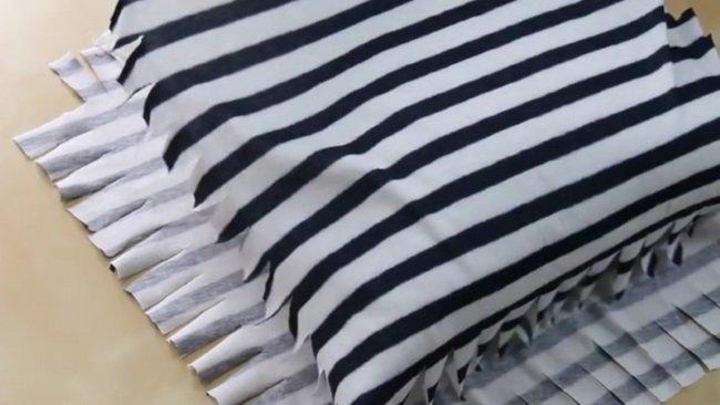 Подушки своими руками из футболки