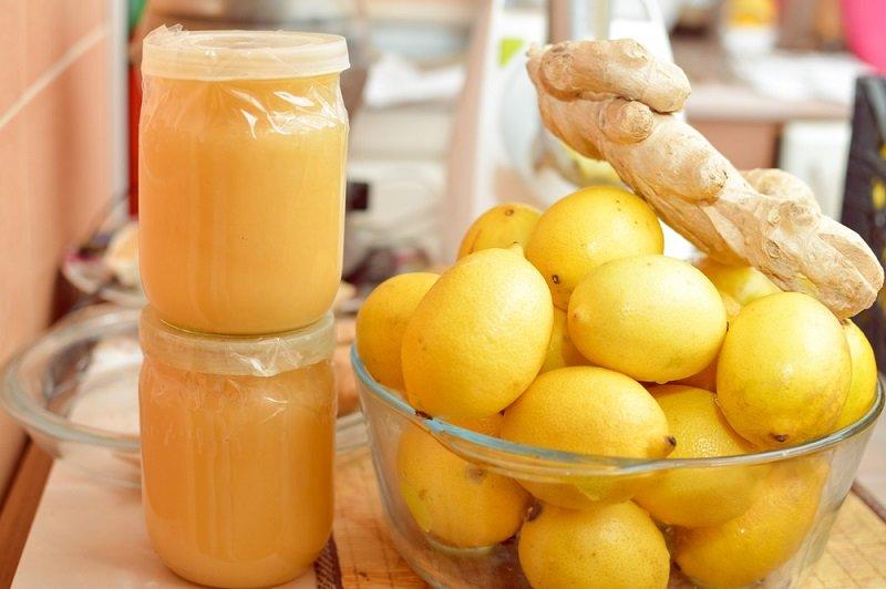 miere și ghimbir