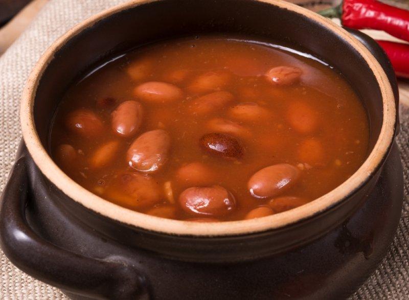 фасоль в томате суп