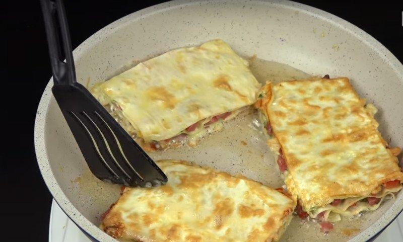 закуска из лаваша с колбасой и сыром