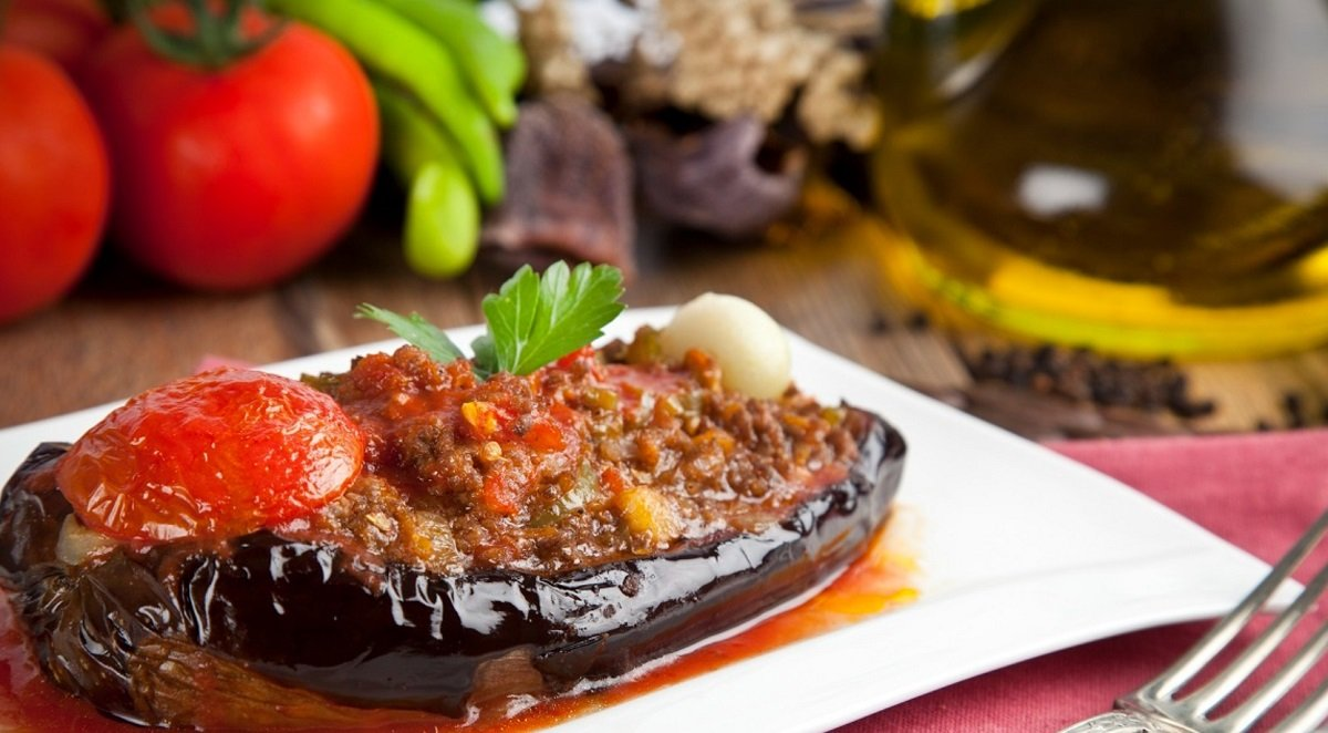 Рецепт турецкого блюда выпросила у повара из отеля в Мармарисе, где отдыхала летом