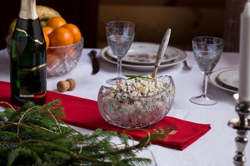 вкусные салаты на новый год