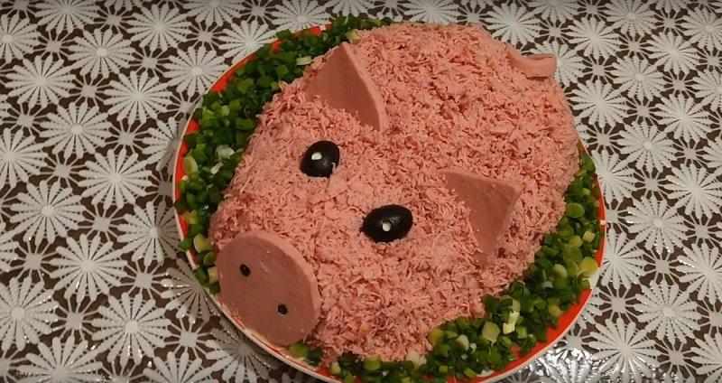 очень вкусные салаты на новый год