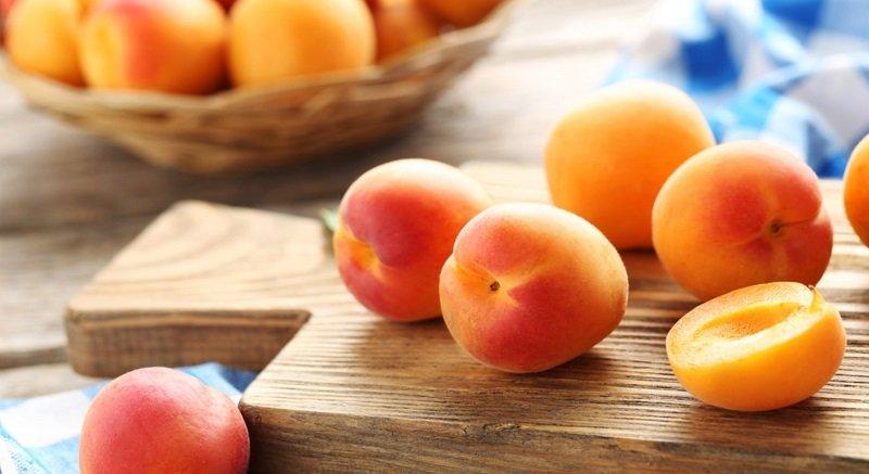 абрикосы кусочками