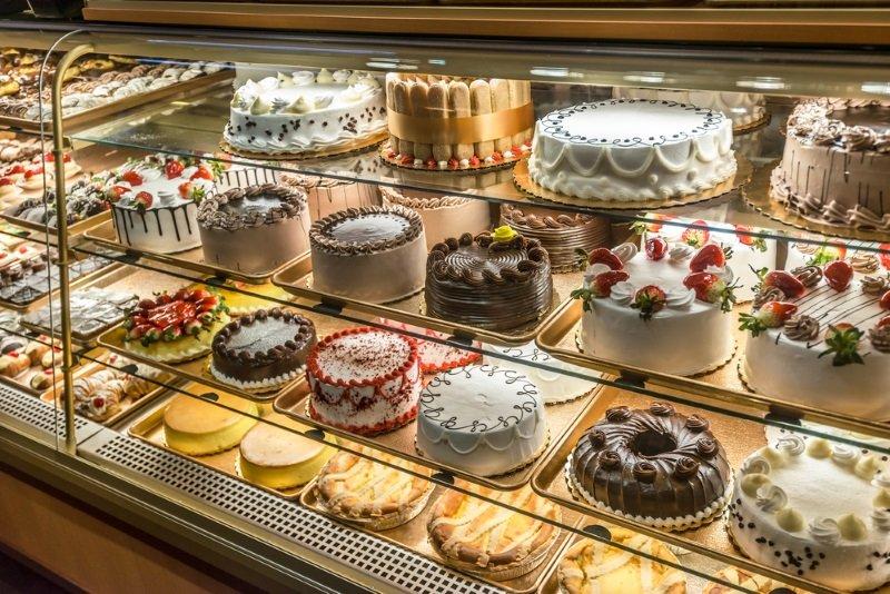 торт с желейной начинкой