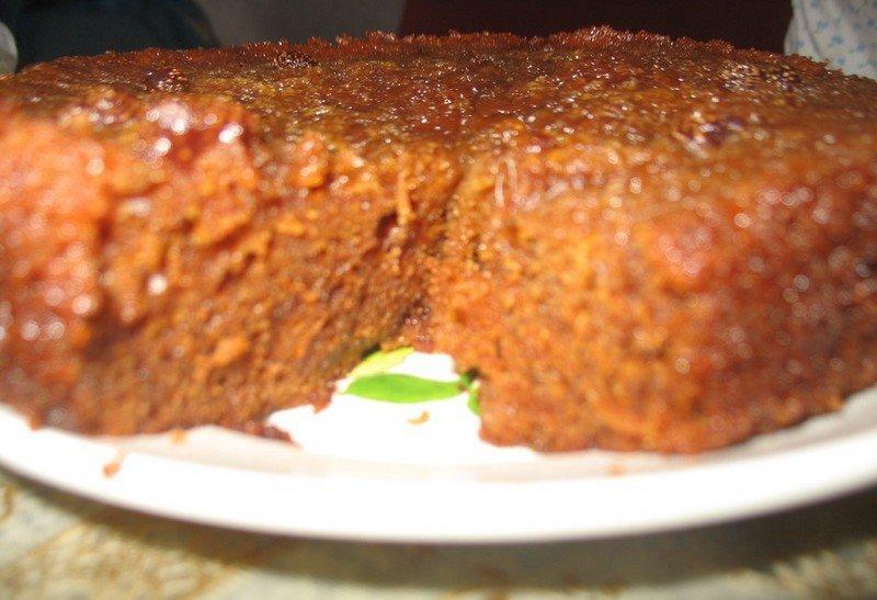 вкусный домашний пирог