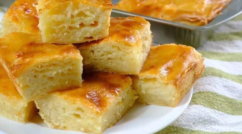 пирог в духовке с сыром