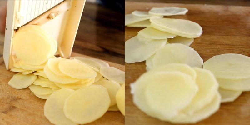 вкусный картофель на гарнир в духовке