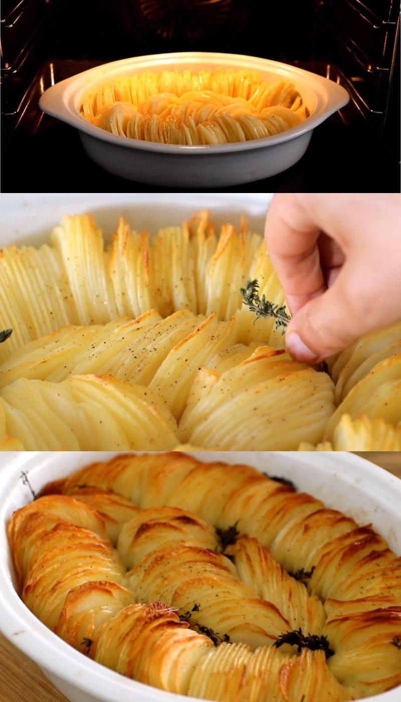 Картошка в духовке для похудения
