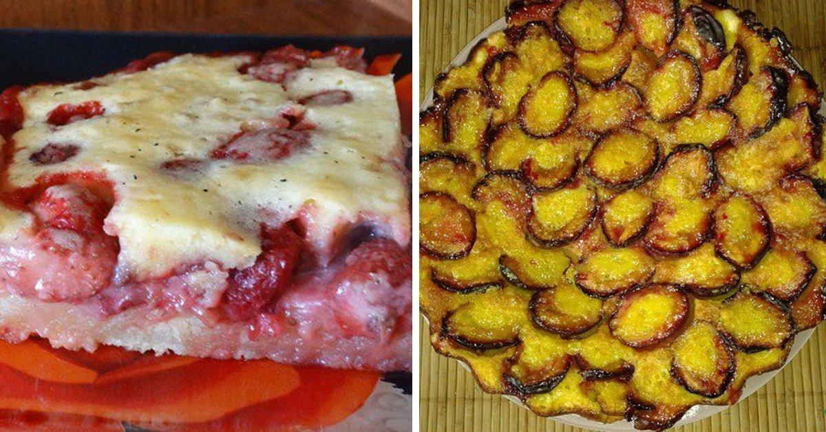 Рецепт сливового пирога thumbnail