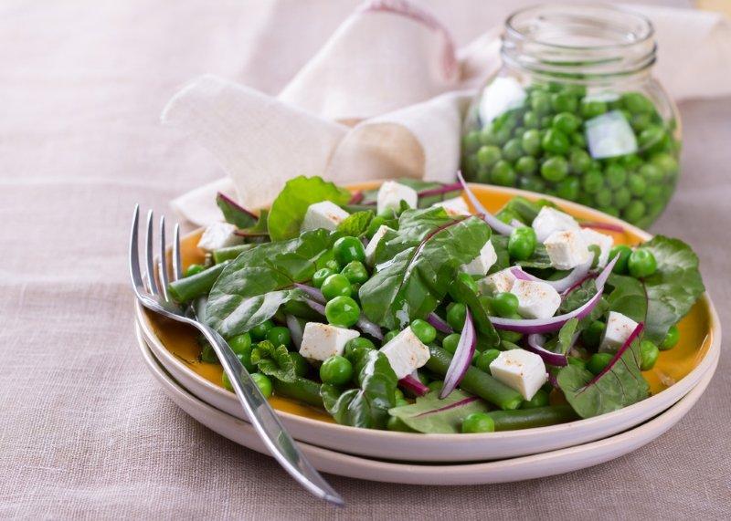 свекольный салат с грецким орехом