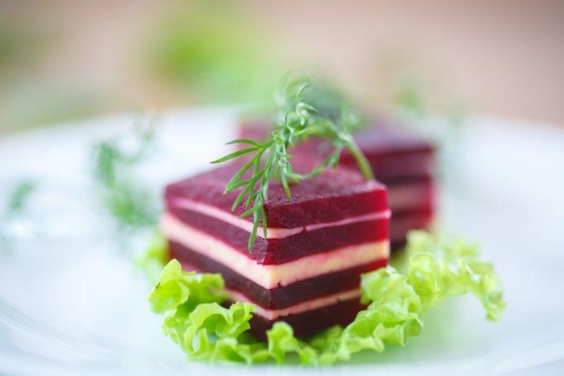 свекольный салат на зиму