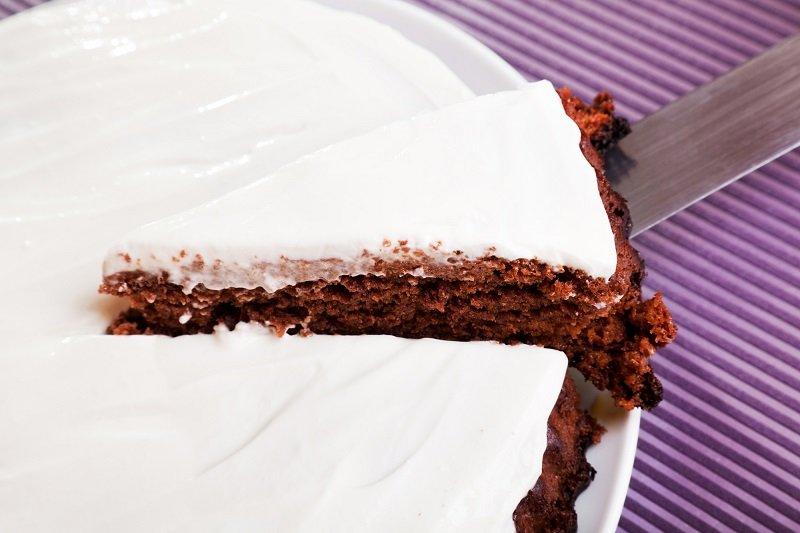 простой и быстрый шоколадный торт