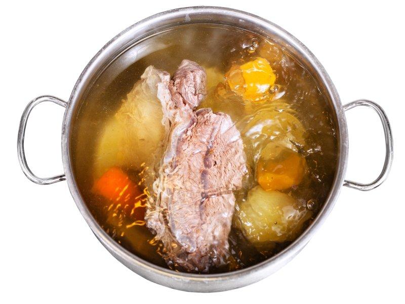 густой наваристый суп