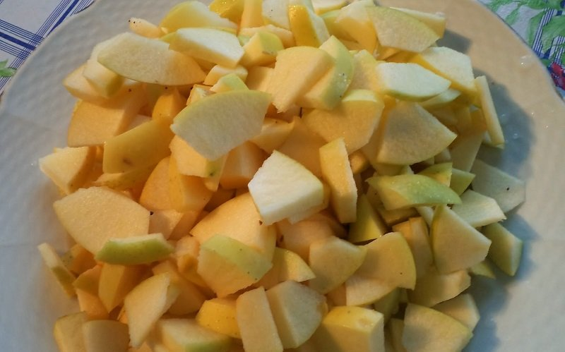 яблочный пирог шарлатанка