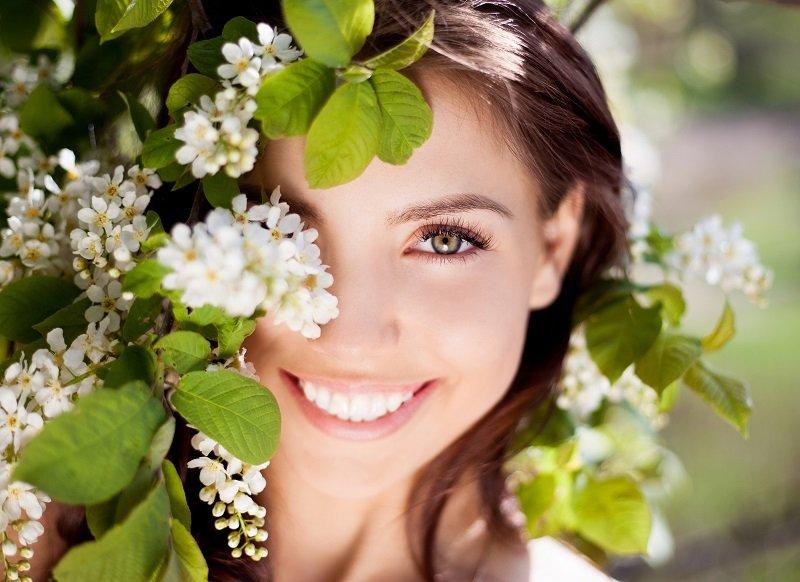 естественная женская красота