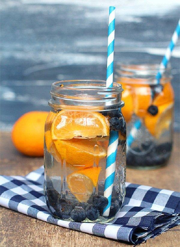 черника и апельсин