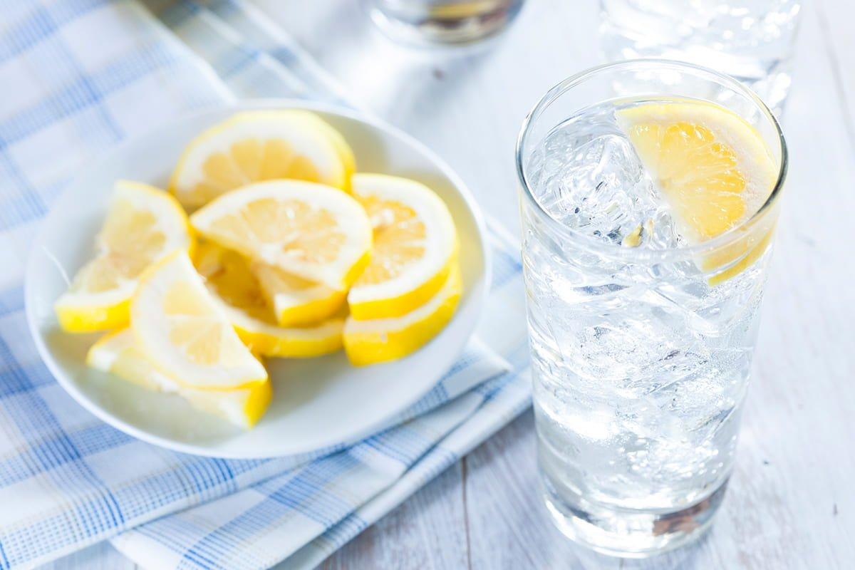 вода с лимоном рецепт